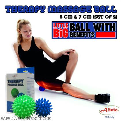ALIVIO THERAPY MASSAGE BALLS - ( BOLA URUTAN TERAPI ALIVIO )