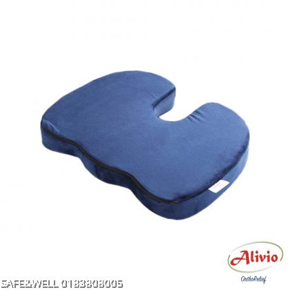ALIVIO THERAPEUTIC COCCYX SEAT CUSHION - ( BANTAL DUDUK TERAPI KERUSI RODA COCCYX )