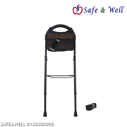 PORTABLE BEDRAIL WITH PADDED POUCH