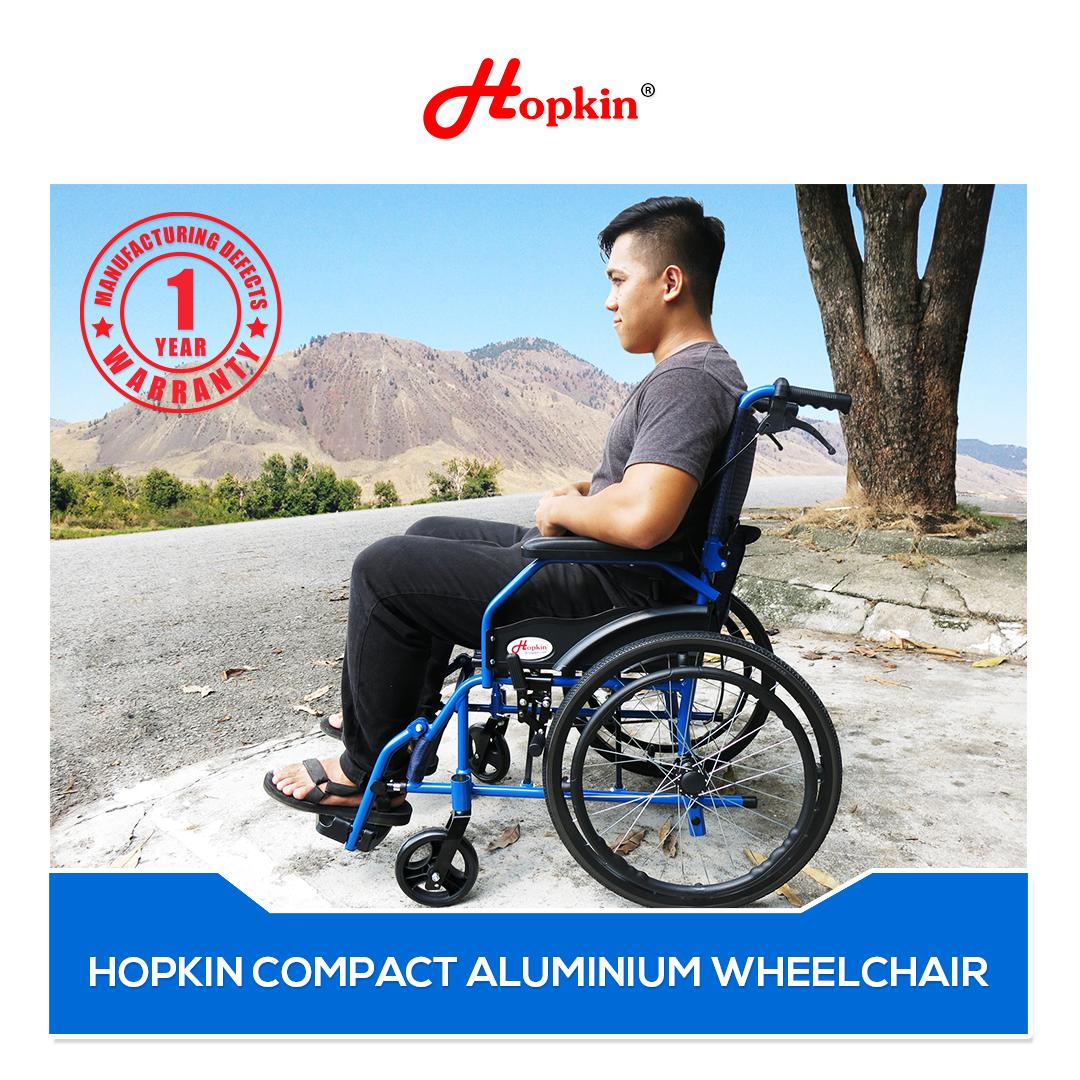 HOPKIN COMPACT ALUMINIUM WHEELCHAIR