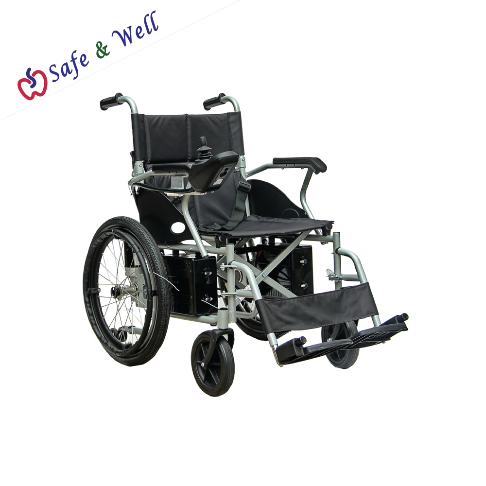 HOPKIN DELUXE FOLDABLE ELECTRIC POWER WHEELCHAIR 20IN