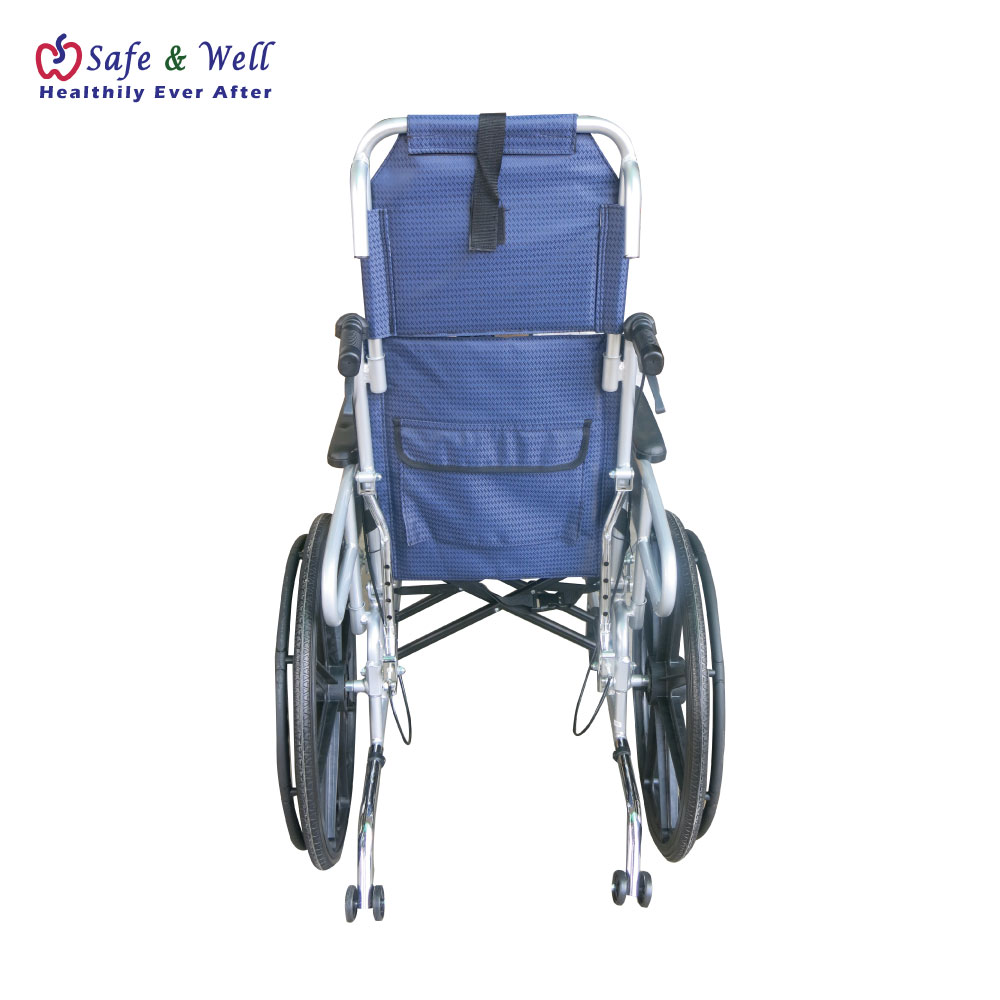 HOPKIN RECLINING ALUMINIUM WHEELCHAIR