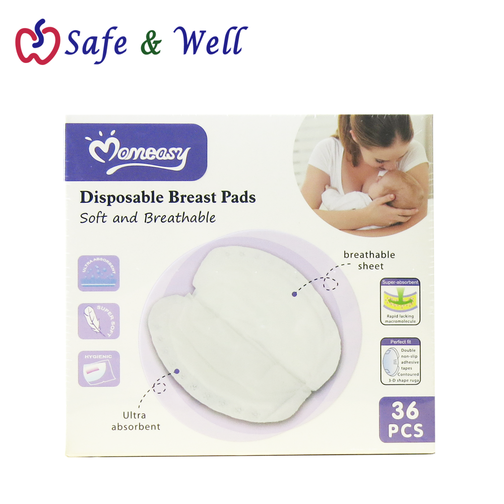 MOMEASY DISPOSABLE BREAST PADS 36PCS