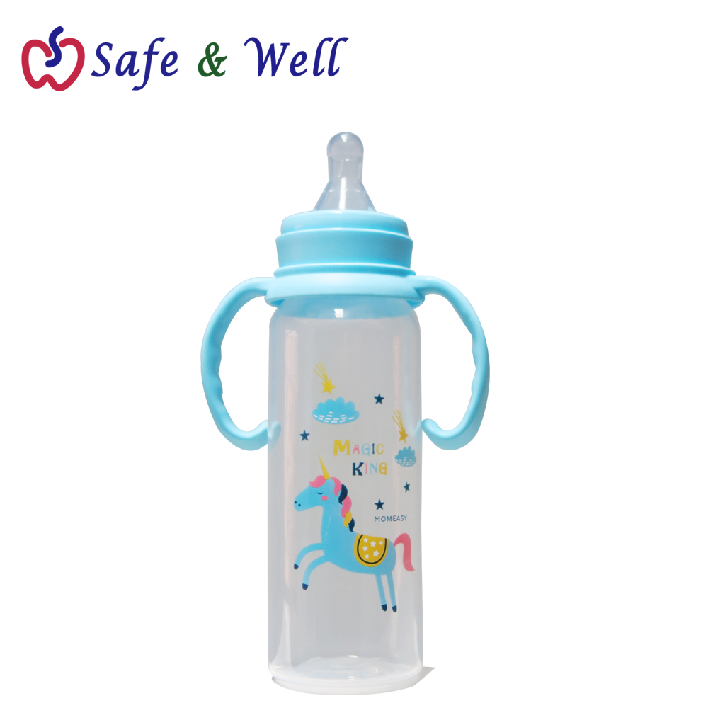 MOMEASY 240ML STANDARD FEEDING BOTTLE WITH HANDLE TYPE A